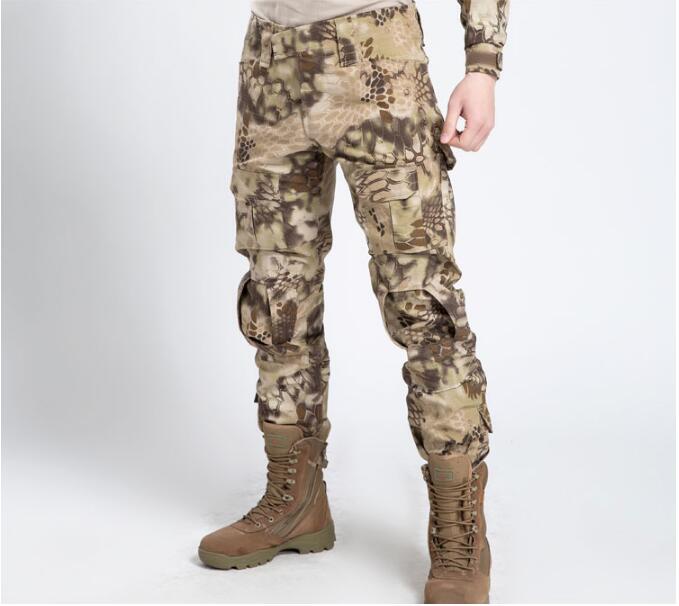 Numérique uniformes militaire Printemps Homme Pantaloni militari Tactique pantalon