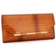 Véritable portefeuille en cuir de vache portefeuilles de femme embrayage à Long conception bourse sacs gros sac à main cadeau