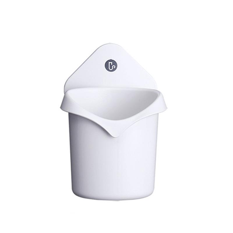 Image 2 - Punch Free Drain Storage Box Suction Cup Toothbrush Holder Bathroom Hanger Storage Organizer Hanging Toothpaste Stand Organizer-in Toothbrush & Toothpaste Holders from Home & Garden