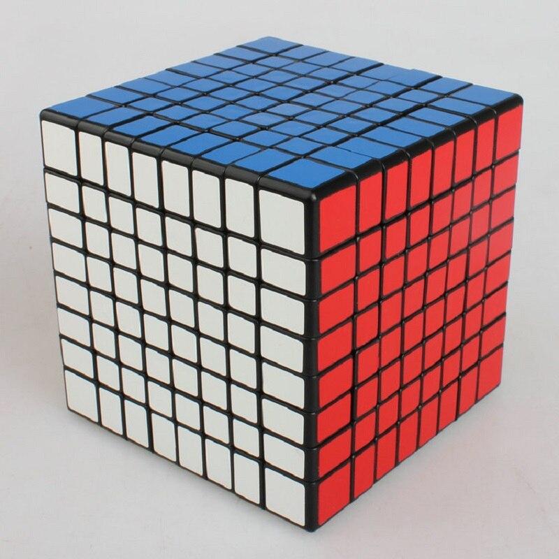 ShengShou 8x8 Puzzle Cube professionnel PVC & mat autocollants Cubo Magico Puzzle vitesse classique jouets apprentissage & éducation jouets