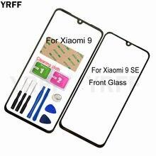 Мобильная передняя панель стекло для xiaomi 9 se Переднее внешняя