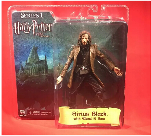 NECA Harry Potter Sirius Orion Black brand new boxed Action Figure model ornaments 7 inch цена