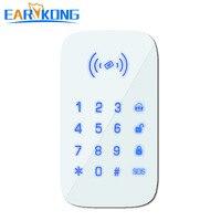 Clavier tactile sans fil Earykong 433MHz uniquement pour PG103/W2B/W123/G4 wifi gsm système d'alarme prise en charge de la carte RFID|Alarme Clavier| |  -