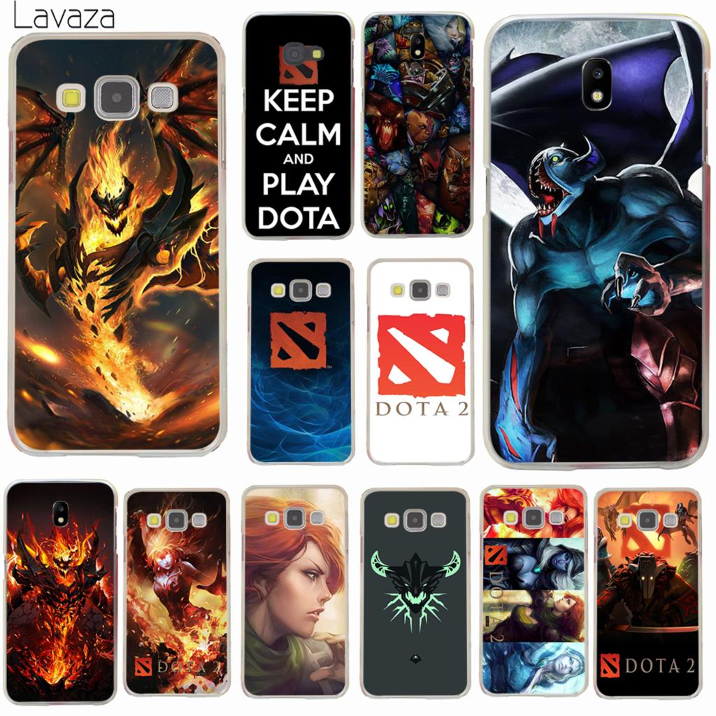 Lavaza Shadow Fiend Dota 2 logo Fashion Phone Case for Samsung Galaxy J8 J7 Duo J6 J5 J4 Plus 2018 2017 2016 J2 J3 Prime 2015 image