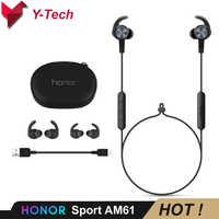Huawei Honor xSport AM61 Huawei Honor Bluetooth Headset Sport Earphone IPX5 Waterproof BT4.1 Mic Control Wireless