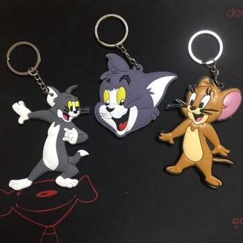 Брелок резиновый Том и Джерри мышь ПВХ