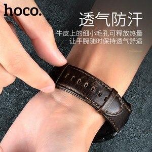 Image 5 - Ремешок из воловьей кожи для Samsung Galaxy Watch 42 мм/46 мм