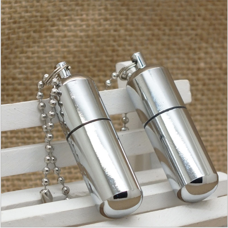 Refillable Bullet Shaped Permanent Match Lighter and Fire Starter Operated with Butane Gas 9