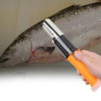 Electric Fish Scaler Brush Waterproof Fish Skin Brush Scraping Graters Fast Remove Fish knife Clean Peeler Scraper Kitchen Tool