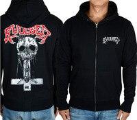 Avulsed Spanish Goregrind Death Metal Band Ritual Zombi Black Hoodie