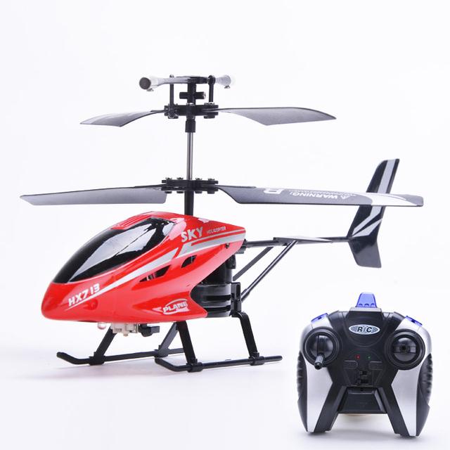 2ch elétrica ao ar livre mini rc helicóptero robô com controle remoto led luz crianças kid toys presente frete grátis