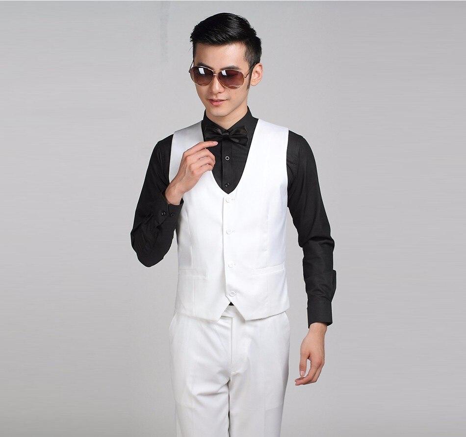 Винтаж Мужская костюмная жилетка модная Повседневное пользовательские смокинг тонкий дизайнерский бренд формальное Деловое платье жилет B31