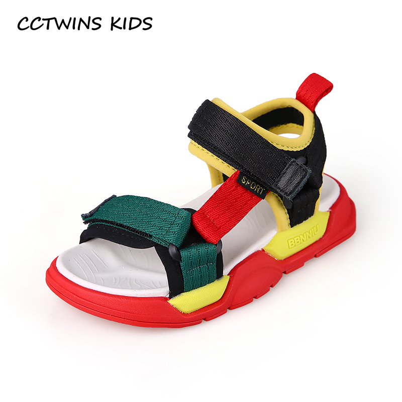 CCTWINS Kids Shoes 2019 Summer Girls Sandals Children Colorful Boys Beach Fashion Flats Toddler Baby Soft Barefoot Shoes BS360CCTWINS Kids Shoes 2019 Summer Girls Sandals Children Colorful Boys Beach Fashion Flats Toddler Baby Soft Barefoot Shoes BS360