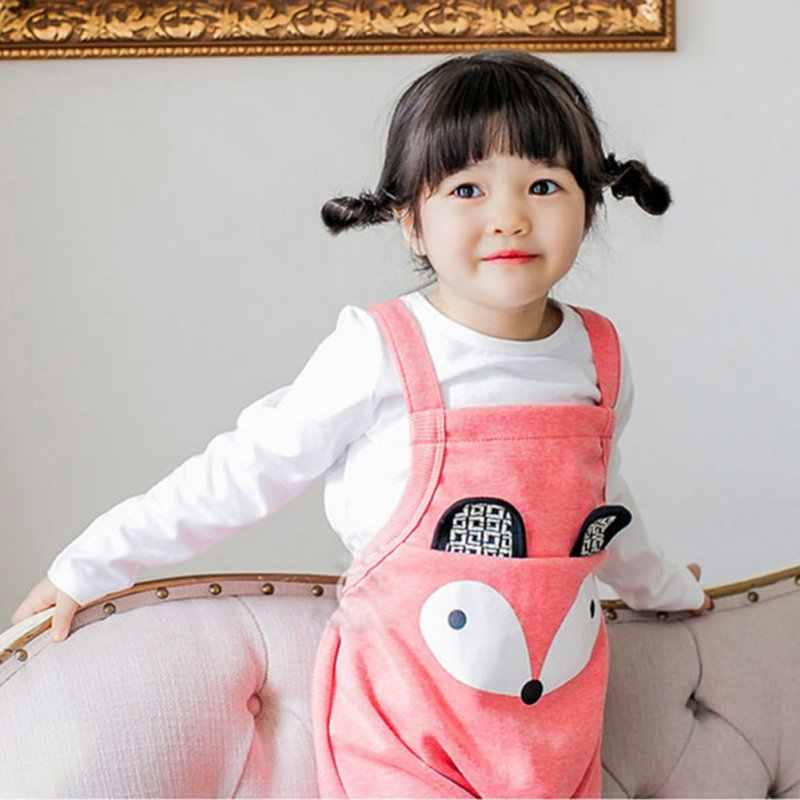 22b2b0e3e6af ... Cute Toddler Kids Girl Boy Overalls Baggy Harem Pants One Piece Romper  Jumpsuit j2 ...