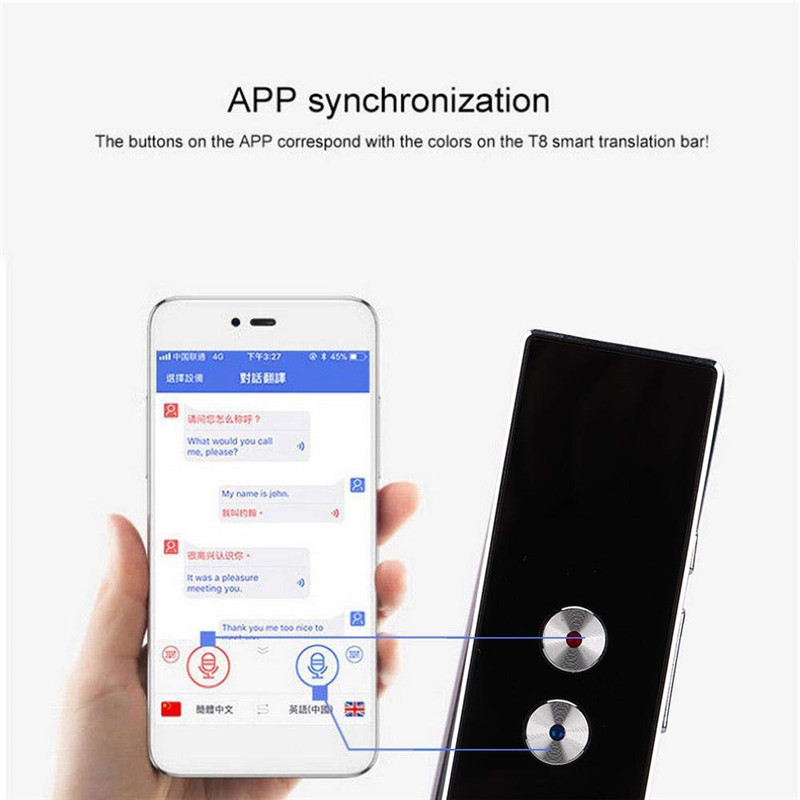 Translaty MUAMA Enence Smart Instant Real Time Voice Multi Languages  Translator Portable Language Translator Voice Translator