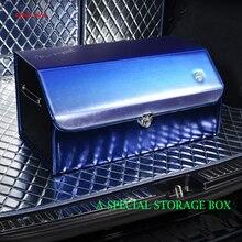 E-FOUR Trunk Organizer Car Premium Multi compartments Collapsible Box for High Class SUV Auto Expandable Large Storage