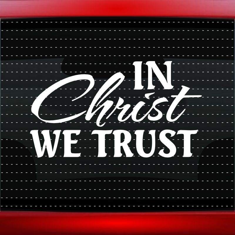 Christian Car Window Decals Stickers PromotionShop For - Promotional car window decals