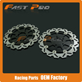 1 Pair Front Brake Disc Rotor For Kawasaki KLV1000 04-07 Suzuki V-STROM DL650 04-06 DL1000 02-10 SVS1000 03-07 SV1000 07-08