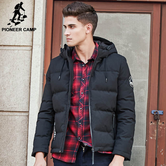 b00f98a0baad placeholder Pioneer Camp men down jacket brand puffer down jacket men  casual Russian winter duck down coat