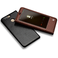 QIALINO Case For Huawei Honor V9 Luxury Genuine Leather Ultrathin Flip Cover For Huawei Honor V9