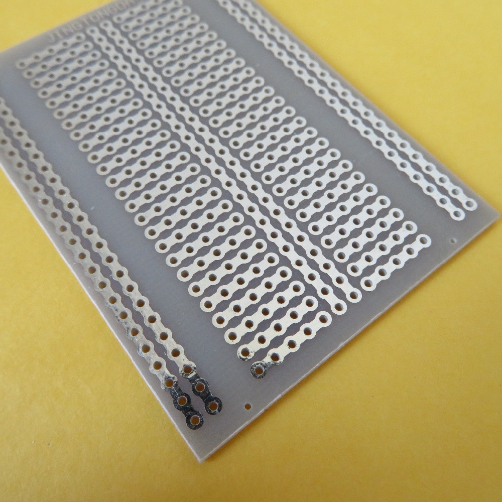 5pcs/lot universal Stripboard Veroboard Single Side 7x5cm joint bakelite Matrix circuit board PCB prototype Platine lochraster Тостер