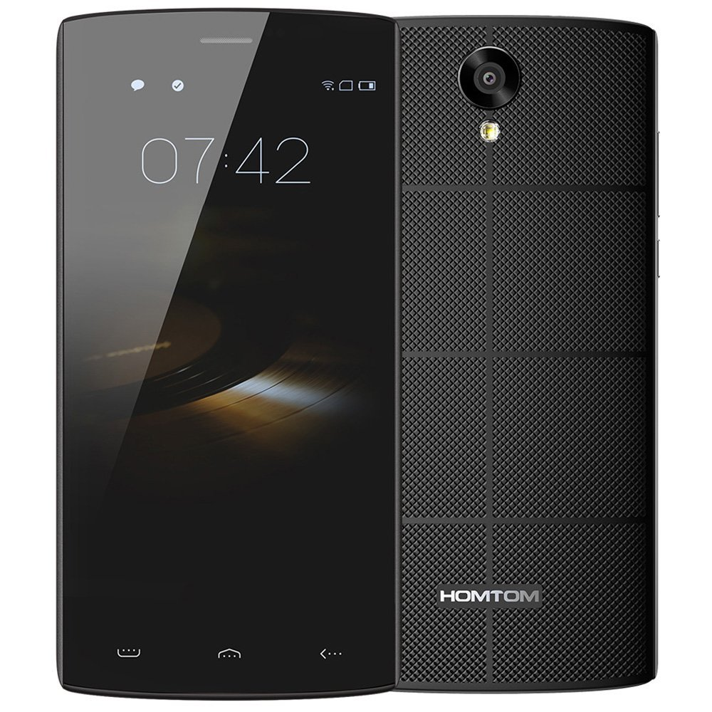 Original HOMTOM HT7 Mobile Phone Android 5 1 MTK6580A 1G RAM 8G ROM 1280x720 5 5