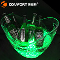 081509 8L  2016 new large charging 8L light LED ice bucket acrylic luminous   barrel