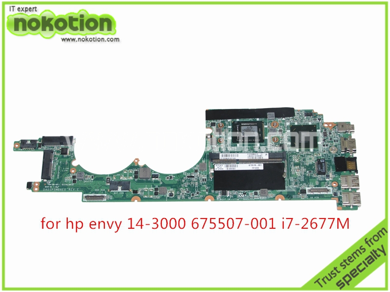 675507 001 675516 001 Laptop Motheroard For HP ENVY 14 3000 laptop font b motherboard b