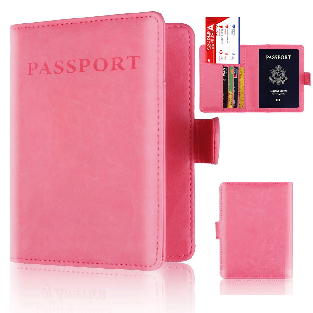Case Passport Beautiful Seashell Stylish Pu Leather Travel Accessories Case For Passport For Women Men