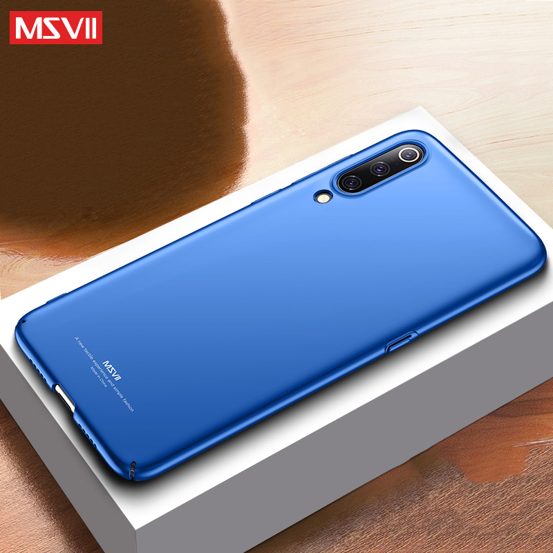 Xiaomi Mi 9 SE Case Msvii Luxury coque For Xiaomi Mi9 Case Ultra Thin Slim Scrub PC Back Cover For mi9 mi 9 explore Global cases