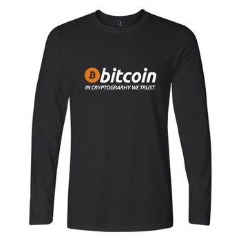In Bitcoin We Trust T Shirt Men Women