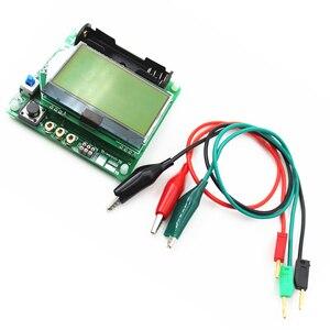 Image 5 - new 3.7V version of inductor capacitor ESR meter Transistor Tester DIY MG328 multifunction test