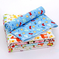 Baby Portable Changing Pad Mat Foldable Washable Compact Travel Nappy Diaper Flannel Bamboo Waterproof Changing Mat Size70X80cm