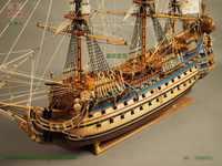 ZHL Le Soleil Royal 1669 modèle navire ZHL l'instruction anglaise mise à jour pour la dernière version du modèle Le Soleil Royal 1669