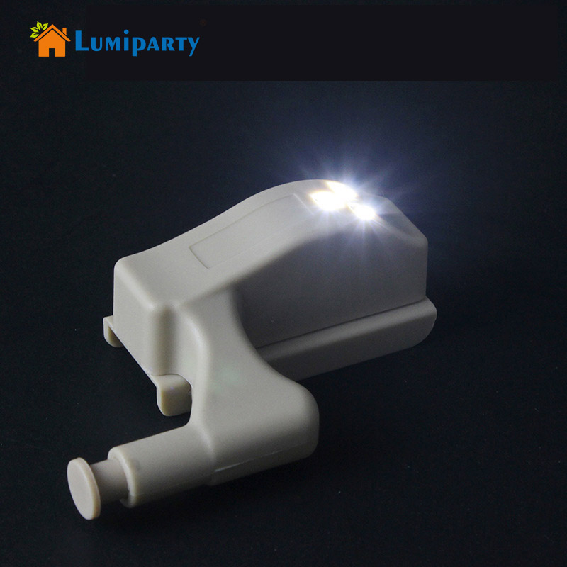 цена на 1pc 0.25W Bedroom Wardrobe Hinge LED Light Home Drawer Kitchen Cupboard Cabinet Lights Modern Night Lamp