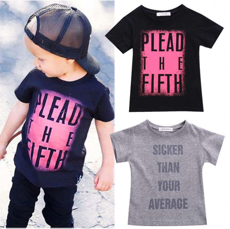2016-wholesale-cool-summer-toddler-kids-baby-boys-short-sleeve-tops-letter-printed-t-shirts-2-7-Years-1