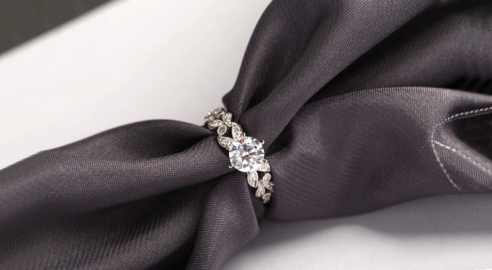 Hot sale fashion jewelry 925 stealing silver Wedding engagement rings for women White Gold plated AAA Zircon cz Diamond Jewelry luxury bague DD097 (5)