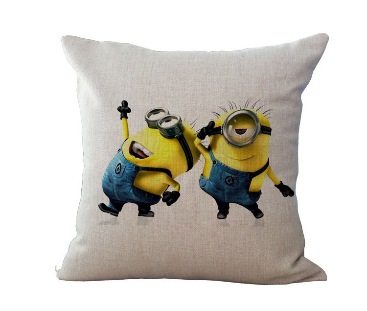 Despicable Me Minions Square Pillowcase