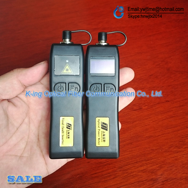 free shipping 2017 mini power meter, red light, VFL Optical Power Meter+5KM Visual Fault Locator