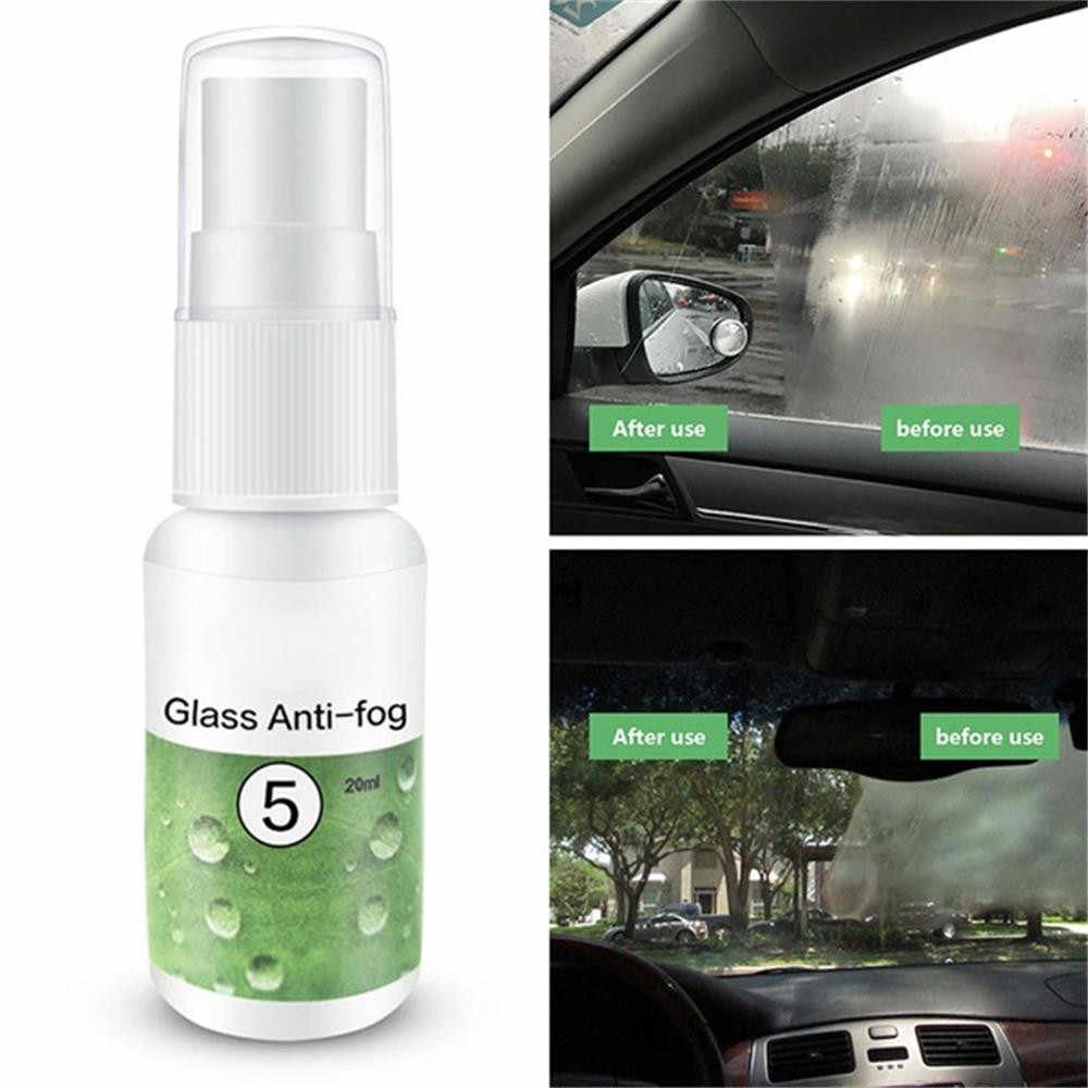 Hot Sale 20/50ML HGKJ-5 Car Hydrophobic Coating Anti-fog Agent Rainproof Spray for Window Glass lasting Durable Lowest Price