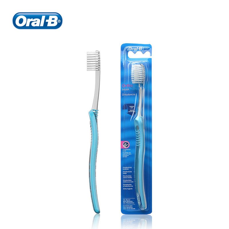 Oral B Sensi-Soft Toothbrush Ultra Soft Bristles for Sensitive Gums Dental Orthodontic Brace Friendly Manual Toothbrush image