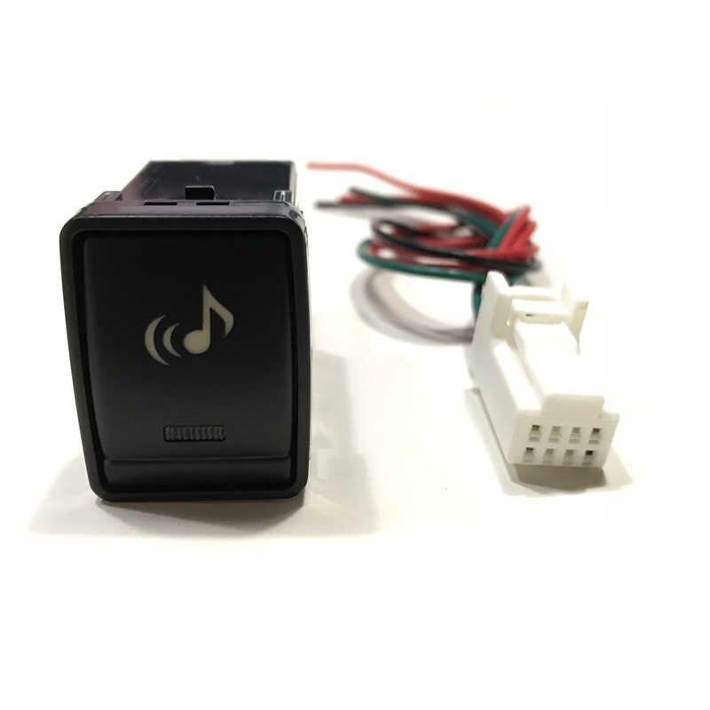 Музыка Аудио сиденье Отопление вентиляция вентилятор BSM Питание Кнопка включения провода для Nissan Teana Qashqai
