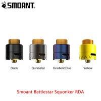 Originl Smoant Battlestar сквокер RDA 24 мм диаметры двойной поток воздуха и 810 полимерный капельный наконечник электронных сигарет Vape Танк vs drop rda