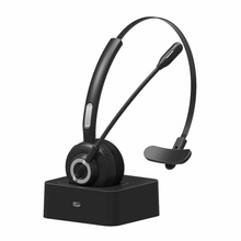 M97 Bluetooth Call Center Headset Telephone Handsfree Noise Cancelling Wireless Office Headphones with Microphone 17h Talking
