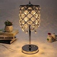 Спальня Кристалл СВЕТОДИОДНЫЙ декоративные лампы настольные лампы светодиодный тумбочки чтения Light Touch Подарок настольная лампа освещения