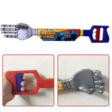 High Quality Plastic Robot Claw Hand Grabber Grabbing Stick Kid Boy Toy Move And Grab Things DIY Robot(China)