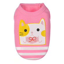 Cartoon Pup Top Vest Dog Clothes