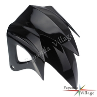 Papanda Motorbike Black Universal Rear Fender Mudguard for Yamaha BWS 125 ZUMA 125 YW 125 Majesty 125 Cygnus Scooter