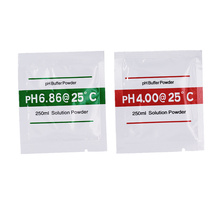 4 bags PH Buffer Powder for PH Test Meter Measure Calibration Solution 1pcs 4.00 and 1pcs 6.86 Calibration Point