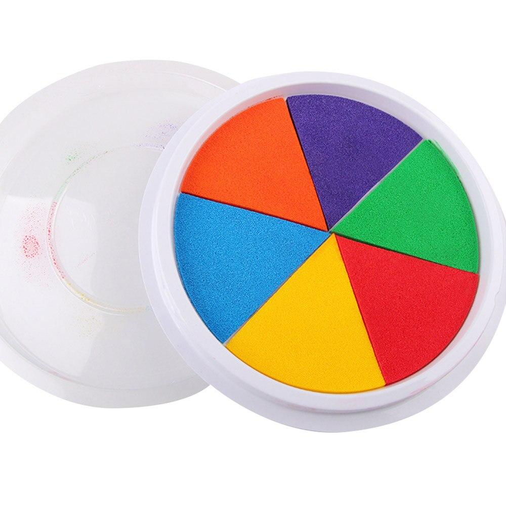 Ладонь для рисования граффити доска игрушка краска для граффити игрушка многоцветный спонж детская комната Diy ладонь креативная игра игрушка обучающие игрушки для детей